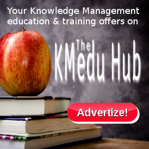 Ad banner | Knowledge Management Education Hub