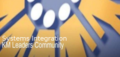 Systems Integration KM Leaders Community (SIKM Leaders)